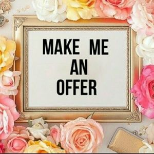 TAKING ALL OFFERS